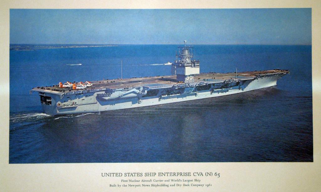 PORTE-AVIONS USS ENTERPRISE (CVN-65) Uss_en16