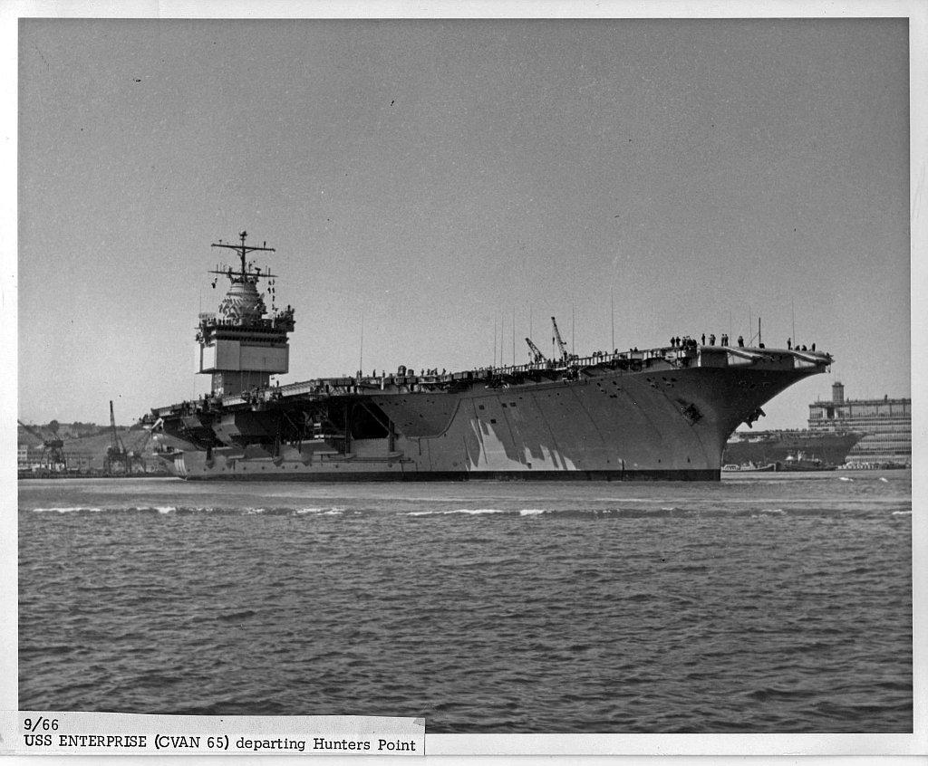 PORTE-AVIONS USS ENTERPRISE (CVN-65) Uss_en28