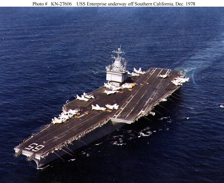 PORTE-AVIONS USS ENTERPRISE (CVN-65) Uss_en36