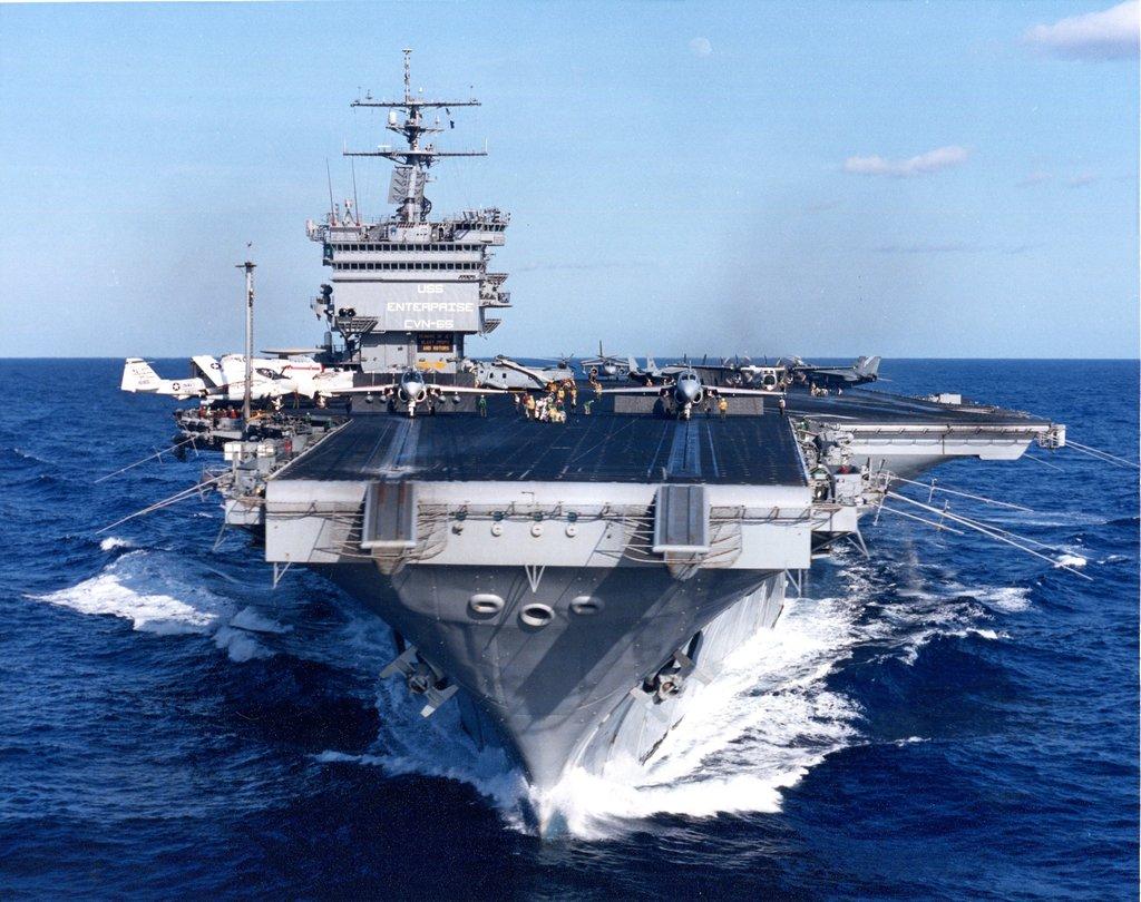 PORTE-AVIONS USS ENTERPRISE (CVN-65) Uss_en42