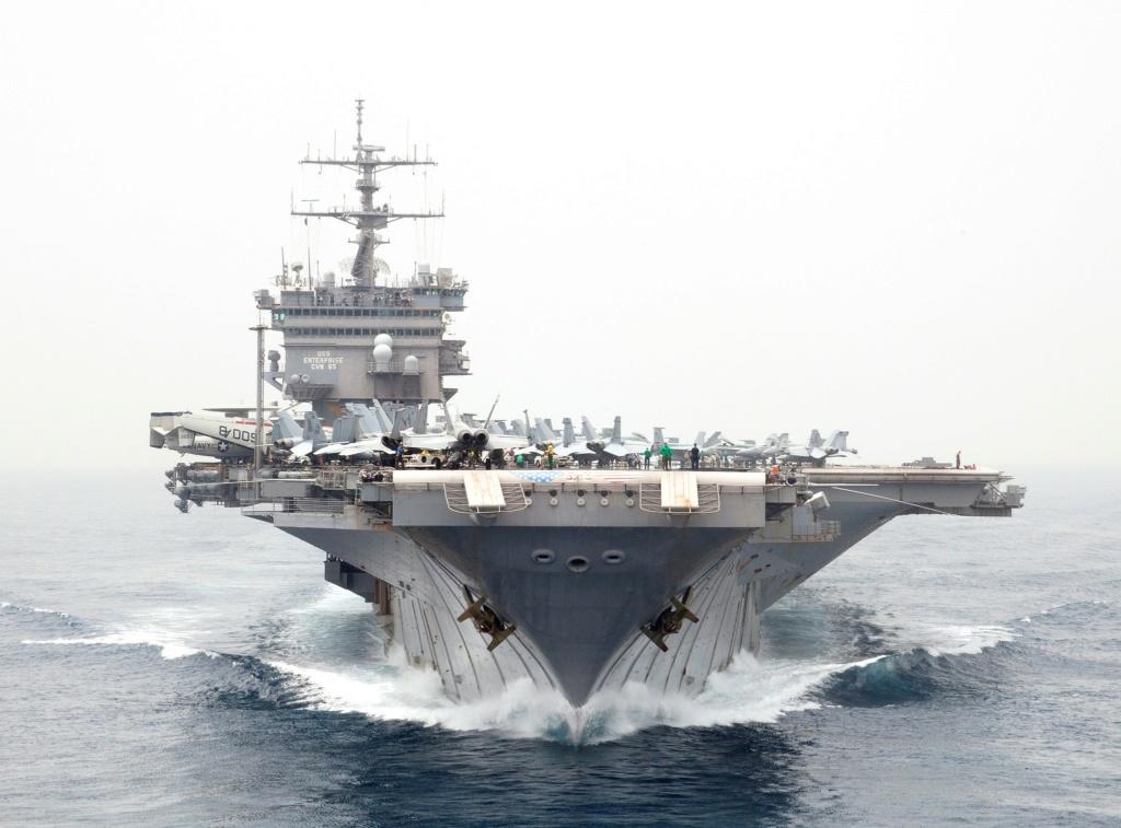 PORTE-AVIONS USS ENTERPRISE (CVN-65) Uss_en50