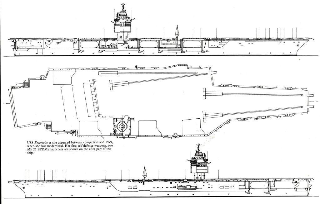 PORTE-AVIONS USS ENTERPRISE (CVN-65) Uss_en53