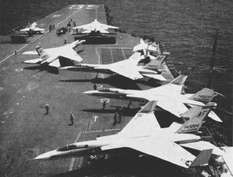 PORTE-AVIONS USS ENTERPRISE (CVN-65) Uss_en64