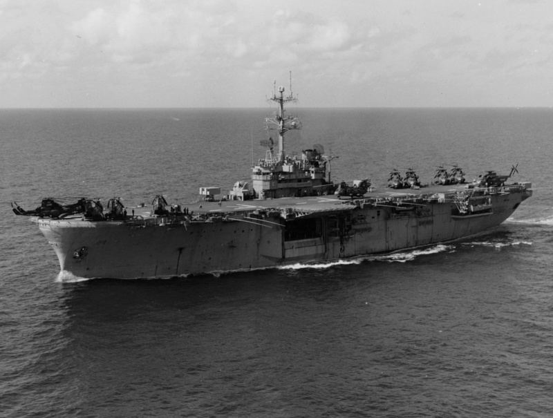 LANDING HELICOPTER ASSAULT CLASSE (LHA) TARAWA (TERMINE) Uss_in11