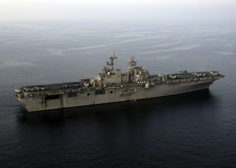 LANDING HELICOPTER DOCK (LHD) CLASSE WASP (TERMINE) Uss_iw22