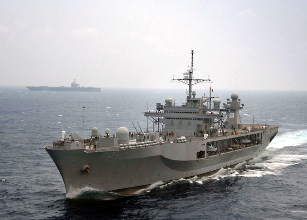 AMPHIBIOUS FORCE COMMAND SHIP (LCC) CLASSE BLUE RIDGE (Fini) Uss_mo21