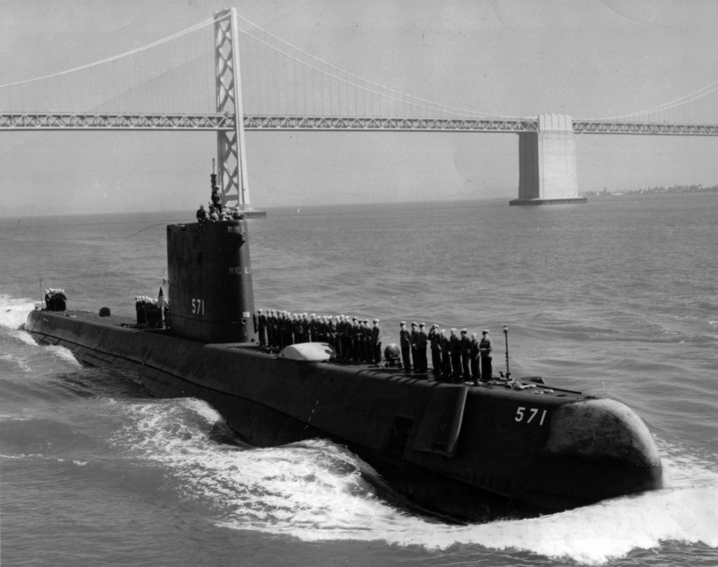 SOUS MARINS NUCLEAIRES D'ATTAQUE (SNA) CLASSE NOVEMBER  Uss_na35