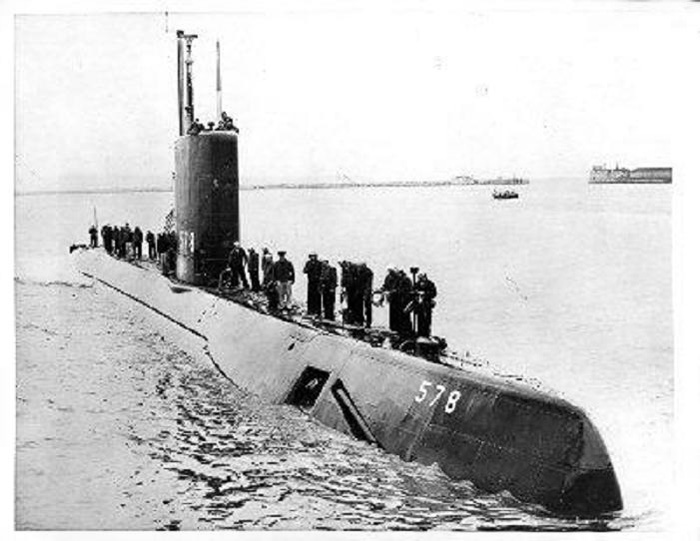 SOUS MARINS NUCLEAIRES D'ATTAQUE (SNA) CLASSE NOVEMBER  Uss_sk10