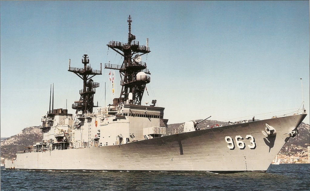 DESTROYERS LANCE-MISSILES CLASSE SHEFFIELD (TYPE 42) (NV) Uss_sp19