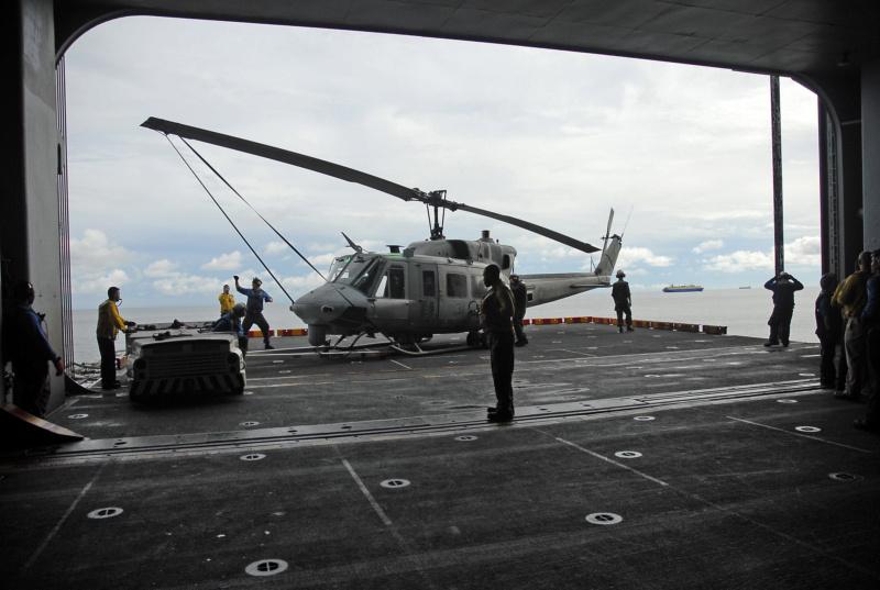 LANDING HELICOPTER ASSAULT CLASSE (LHA) TARAWA (TERMINE) Uss_ta43