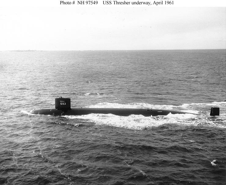 SOUS MARINS NUCLEAIRES D'ATTAQUE (SNA) CLASSE NOVEMBER  Uss_th11