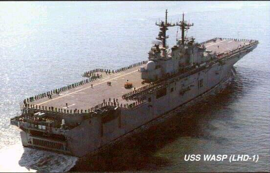 LANDING HELICOPTER DOCK (LHD) CLASSE WASP (TERMINE) Uss_wa15