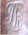 Mousquet de cavalerie Modèle année 9 marquage de la crosse Db10