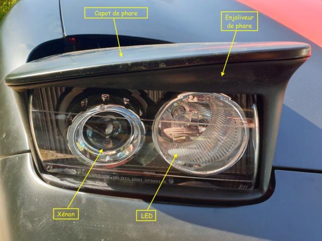 Démontage phares et montage d'un nouveau combiné xénon/LED 20190424