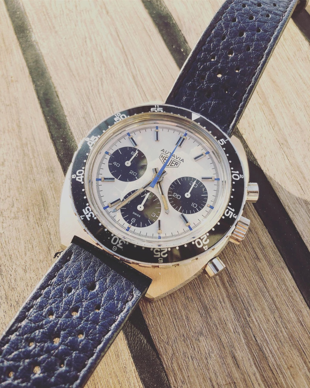 Heuer Autavia réf 73663 Siffert color 3db9aa10