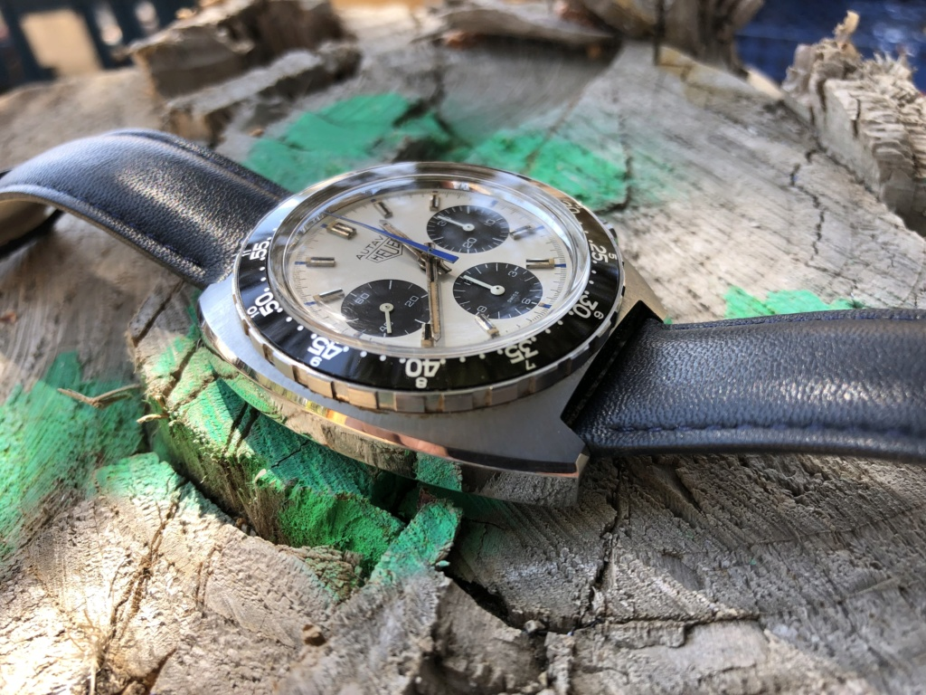 Heuer Autavia réf 73663 Siffert color 7dc72310