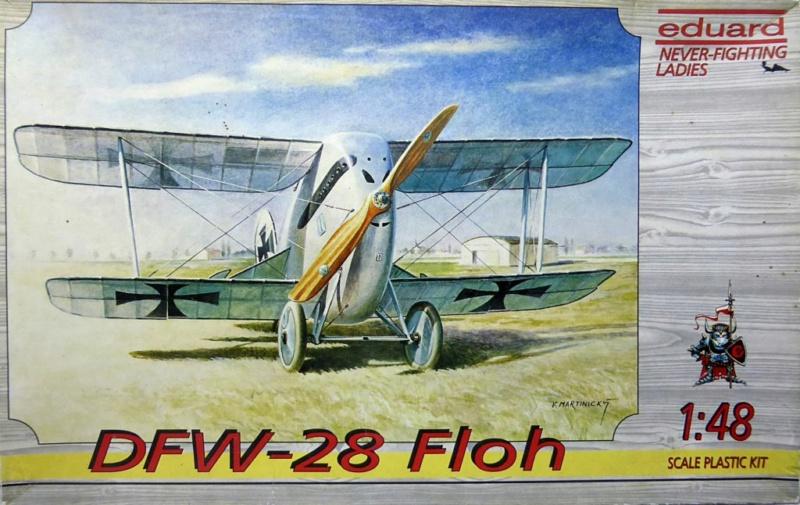 [eduard] Never Fighting Ladies - DFW-28 Floh (1/48) en version Jasta 15 Dfw28-10