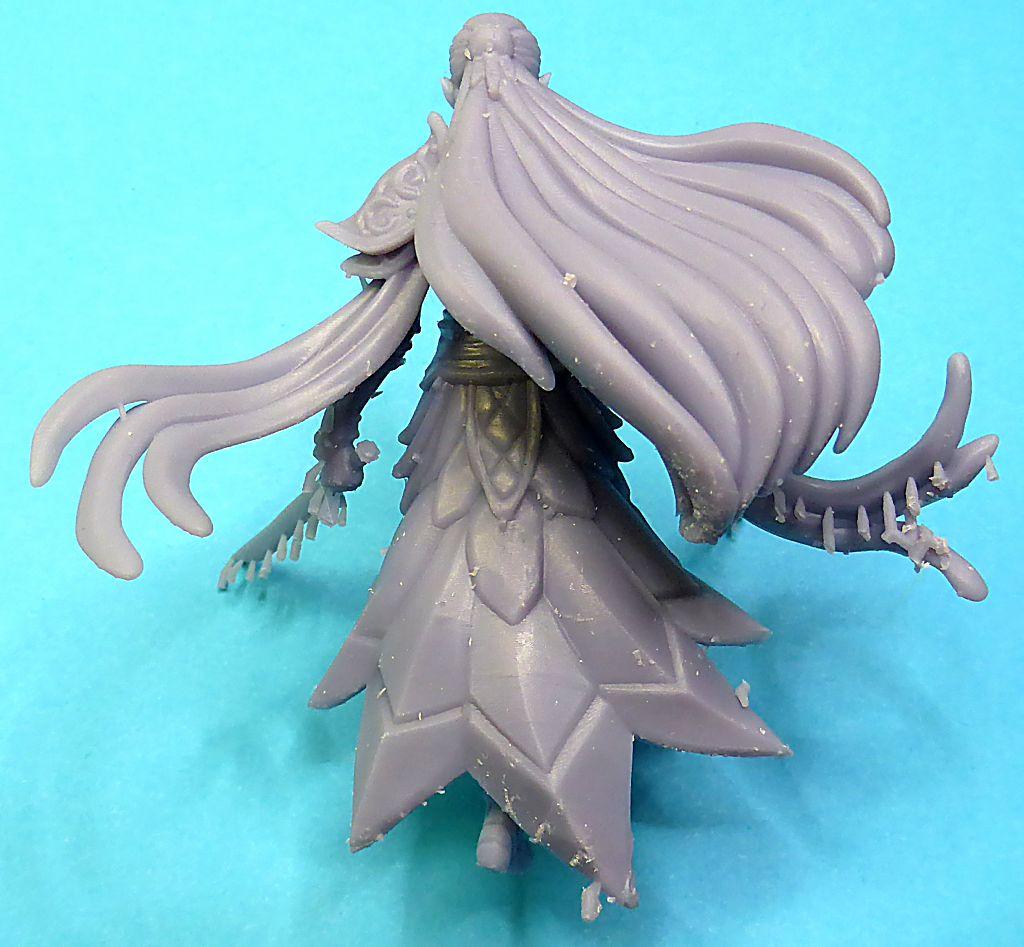 Impression 3D Résine - Figurine de Nain Elfe-012