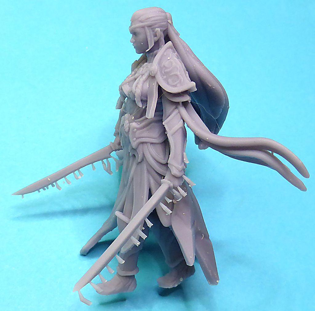 Impression 3D Résine - Figurine de Nain Elfe-013