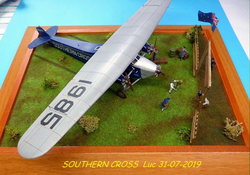 "[Zvesda] - Fokker F-VII ""SOUTHERN CROSS"" 1928 Vol Trans-Pacifique vers l'Australie Fvii-910"