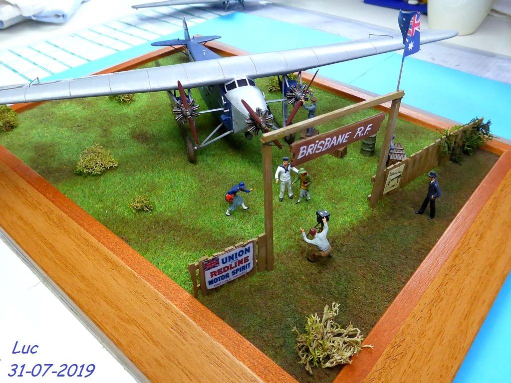 "[Zvesda] - Fokker F-VII ""SOUTHERN CROSS"" 1928 Vol Trans-Pacifique vers l'Australie Fvii-911"