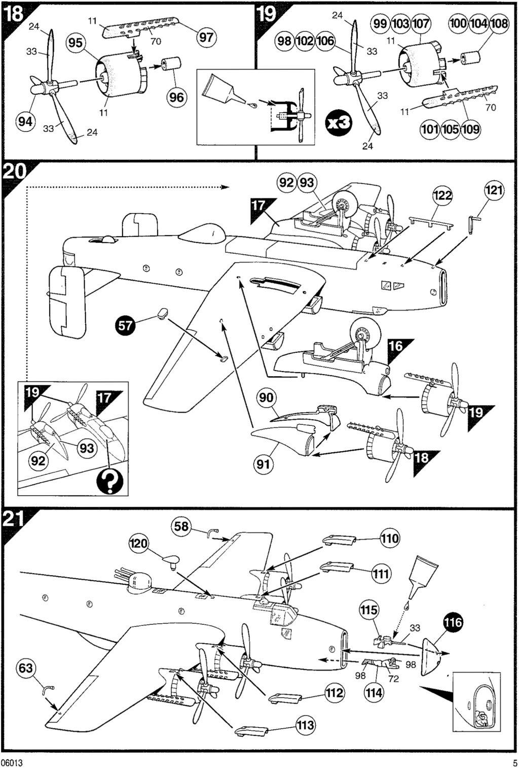 Fil rouge 2021 * Handley Page HALIFAX B III - Airfix 1/72 Hali-111