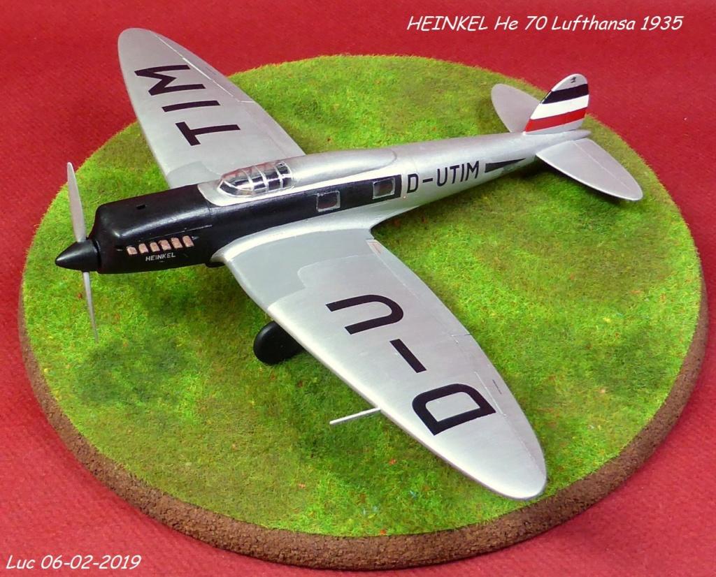[Revell] - Heinkel He 70F-2 décor Lufthansa 1935 He70-420