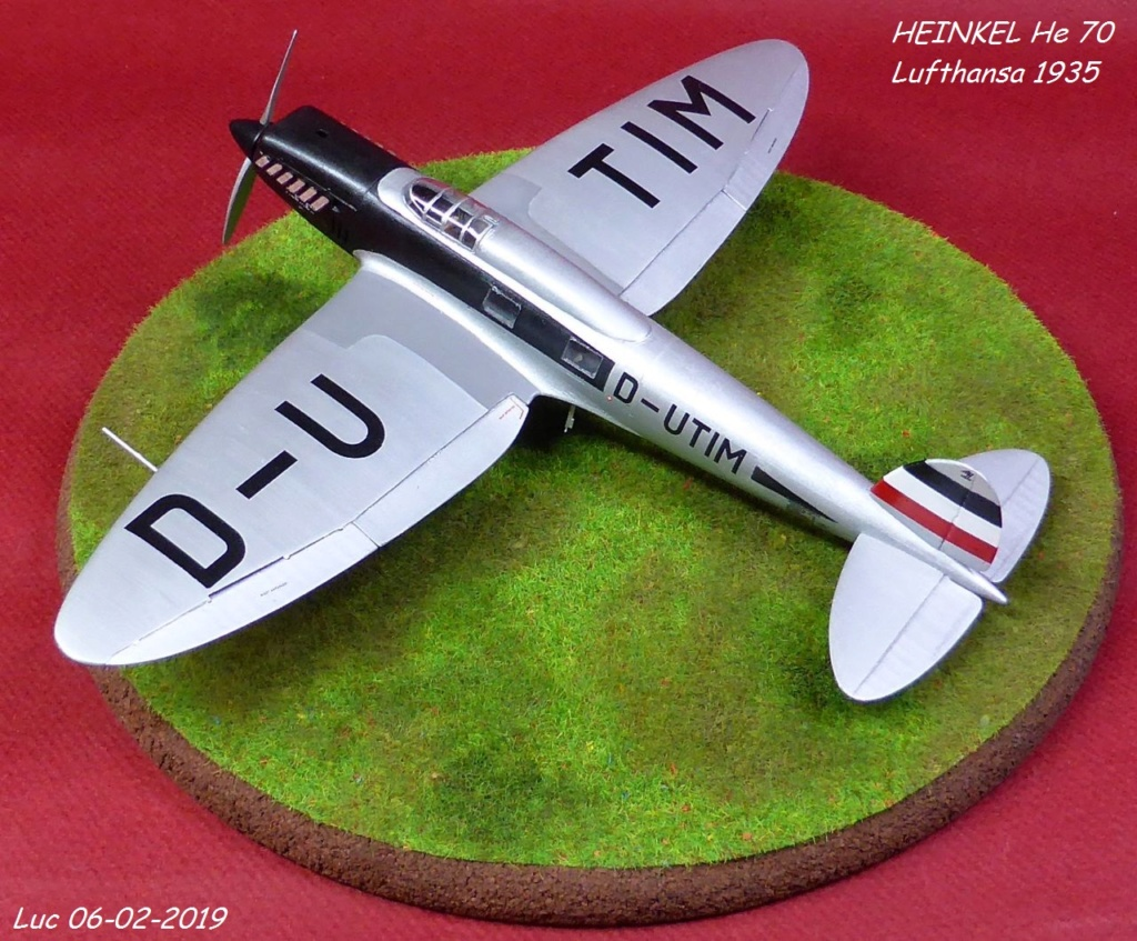 [Revell] - Heinkel He 70F-2 décor Lufthansa 1935 He70-421