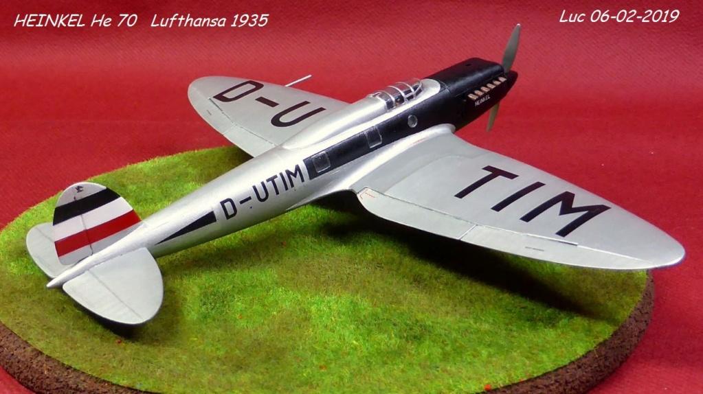 [Revell] - Heinkel He 70F-2 décor Lufthansa 1935 He70-422