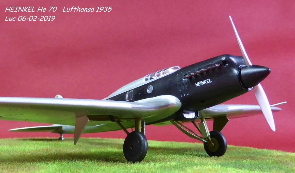 [Revell] - Heinkel He 70F-2 décor Lufthansa 1935 He70-424