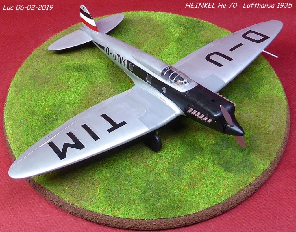 [Revell] - Heinkel He 70F-2 décor Lufthansa 1935 He70-425