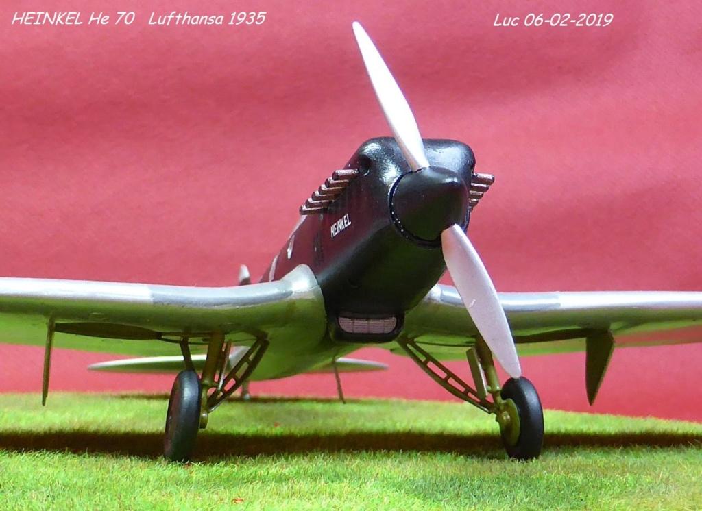 [Revell] - Heinkel He 70F-2 décor Lufthansa 1935 He70-426