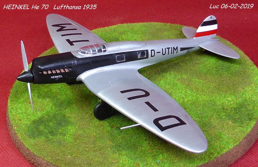 [Revell] - Heinkel He 70F-2 décor Lufthansa 1935 He70-427