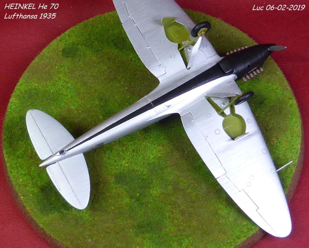 [Revell] - Heinkel He 70F-2 décor Lufthansa 1935 He70-428
