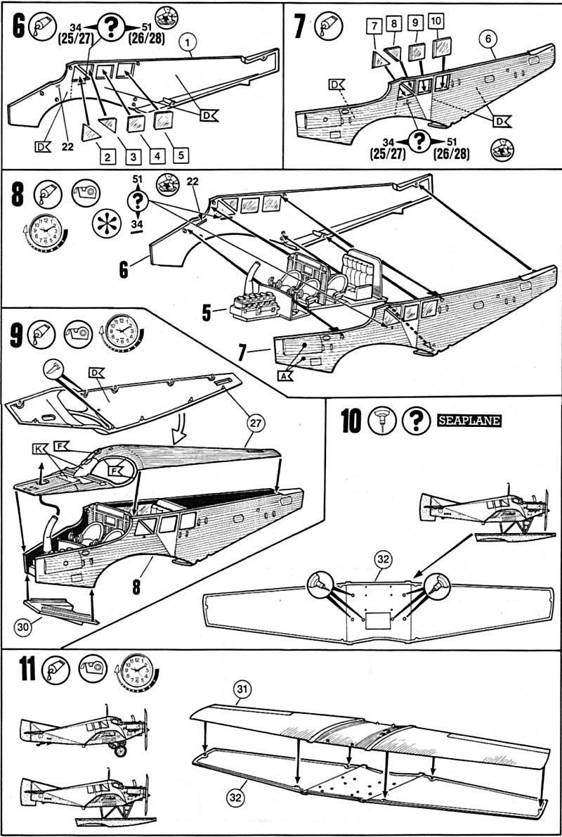 Fil rouge 2019 : Junkers F.13 - (Revell 1/72) *** Terminé en pg 4 Juf13-11