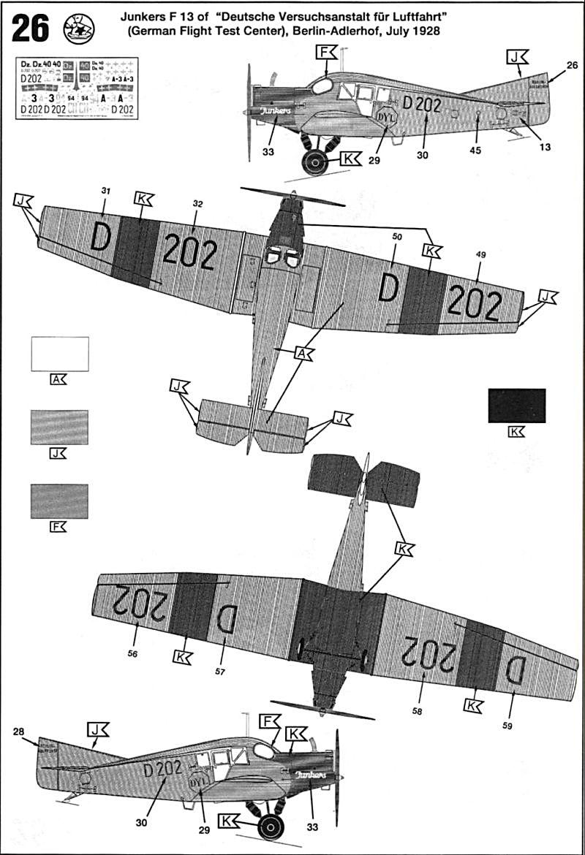 Fil rouge 2019 : Junkers F.13 - (Revell 1/72) *** Terminé en pg 4 Juf13-15
