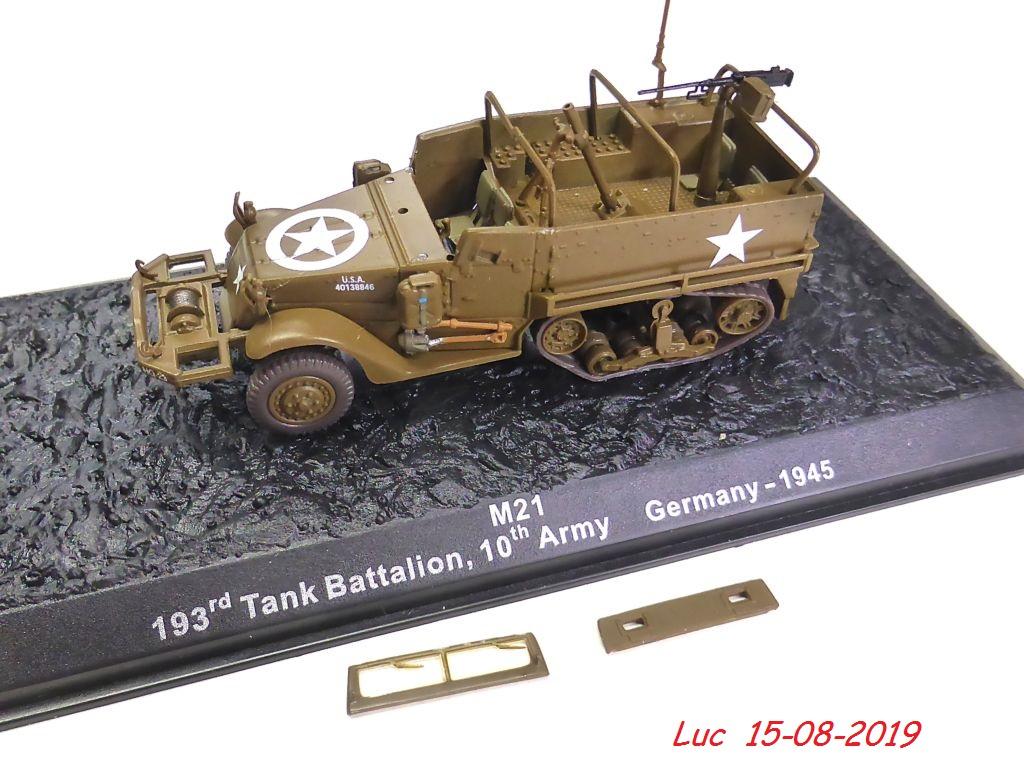 """[Atlas collection] Améliorations sur un""""Motar Carrier M21"""" Mc-m2110"""