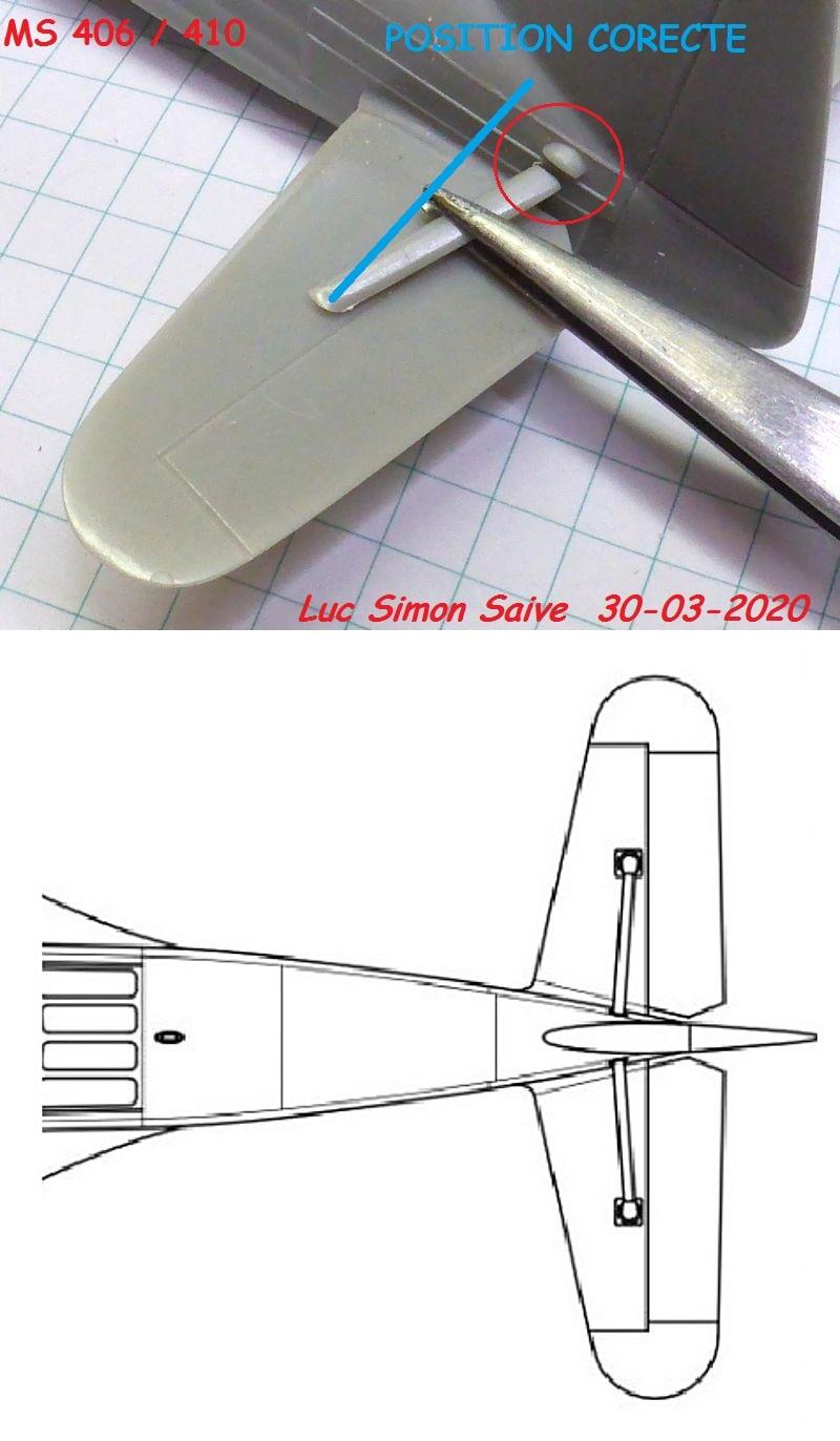 Défi 2020 - Double cauchemar: [Hobby Craft 1-48] MS-406 + MS-410 *** Terminé en pg 9 - Page 5 Ms410-56