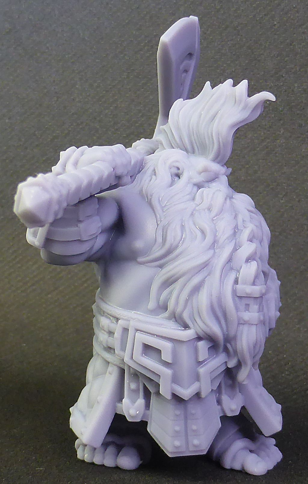 Impression 3D Résine - Figurine de Nain Nain-017