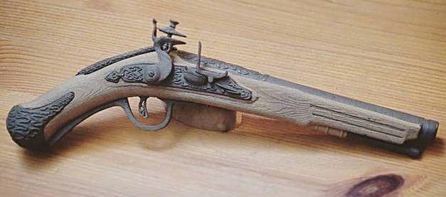 Impression 3D FDM: le pistolet pirate Pistol10
