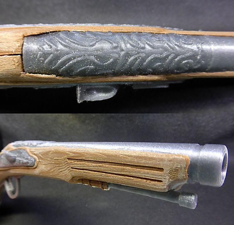 Impression 3D FDM: le pistolet pirate Pistol15