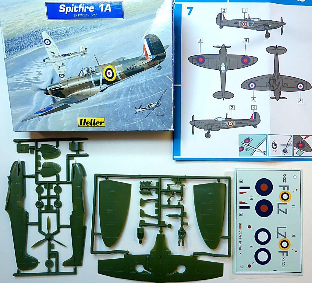 [Heller] Spitfire 1A -Fini. Smk1a011