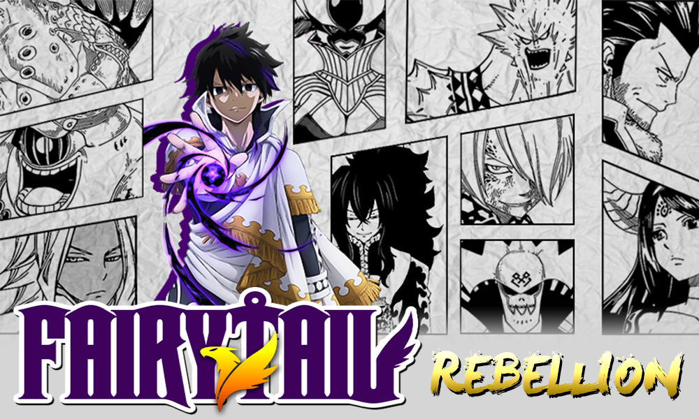 Mangas RPG - Fairy Tail