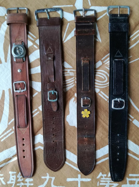 Ma collection de bracelets de montres japonais de la seconde guerre mondiale. Img_2188