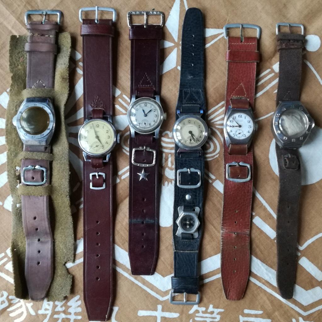 Ma collection de bracelets de montres japonais de la seconde guerre mondiale. Img_2190