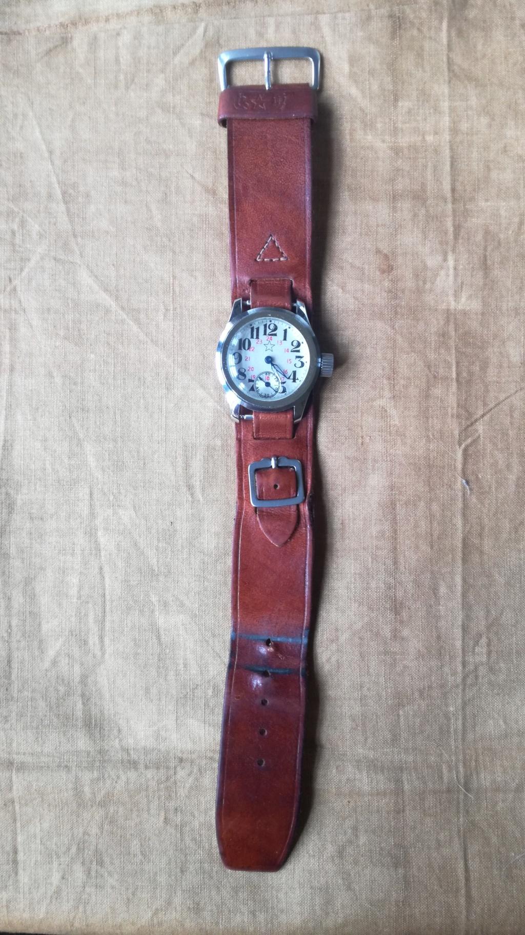 Ma collection de bracelets de montres japonais de la seconde guerre mondiale. Img_2192