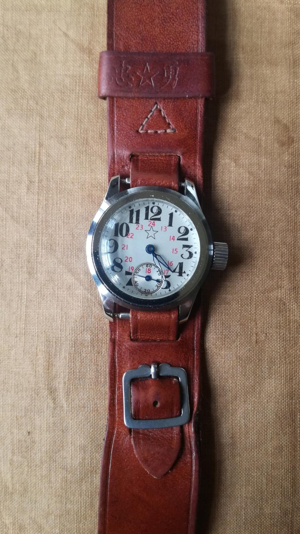 Ma collection de bracelets de montres japonais de la seconde guerre mondiale. Img_2193