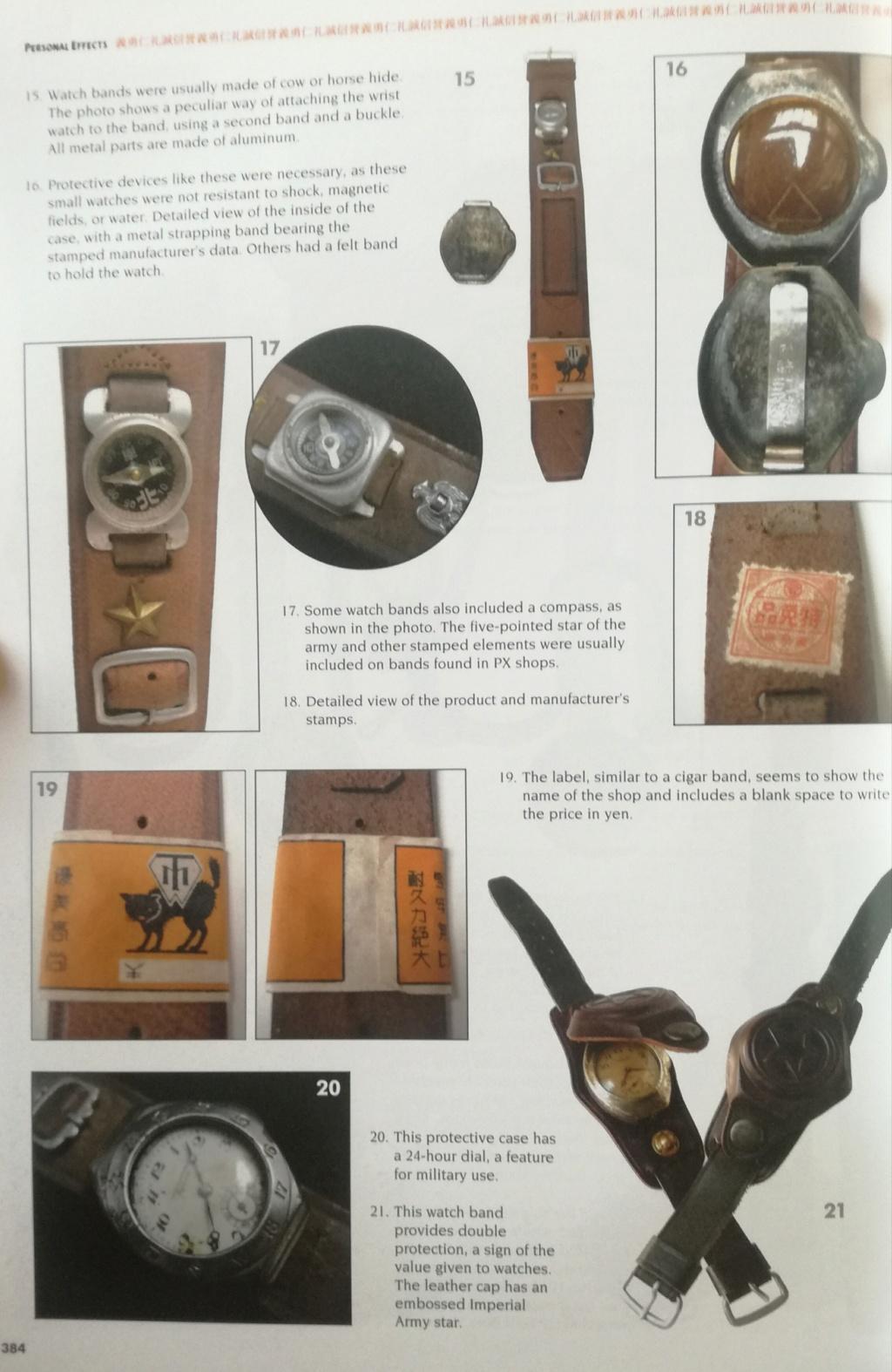 Ma collection de bracelets de montres japonais de la seconde guerre mondiale. Img_2194