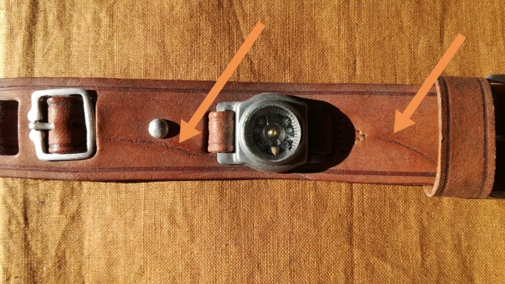 Ma collection de bracelets de montres japonais de la seconde guerre mondiale. Img_2197