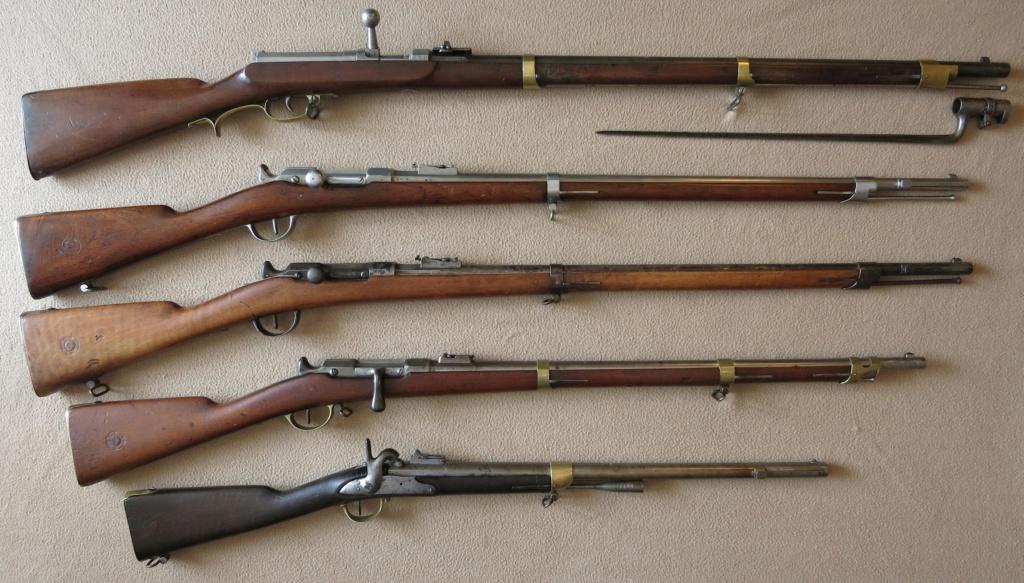 Fusil Chassepot de cavalerie d'Afrique. Img_6510